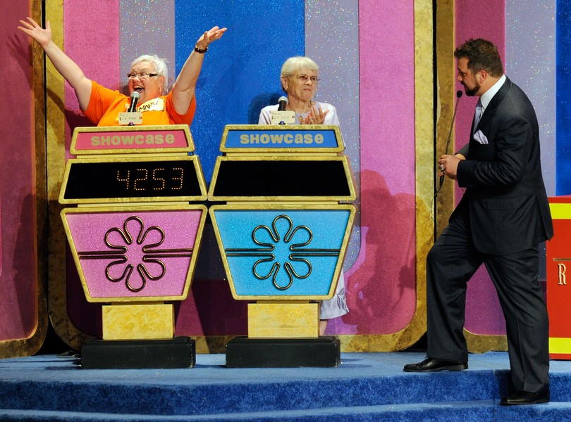 "Joey Fatone Hosts ""The Price Is Right - Live"" Show At Bally's Las Vegas"